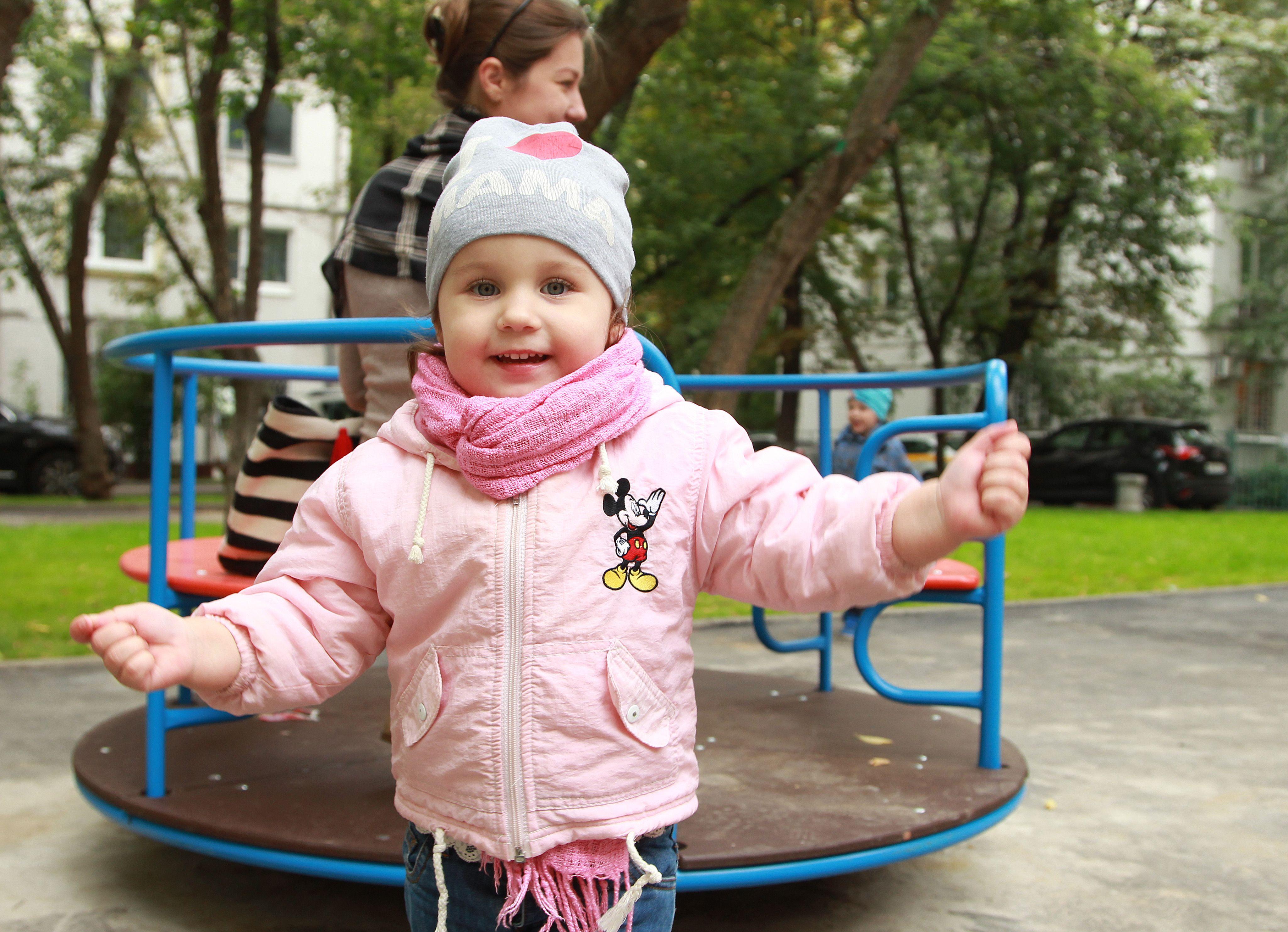 Новой Москве подарят 16 детских площадок до конца года