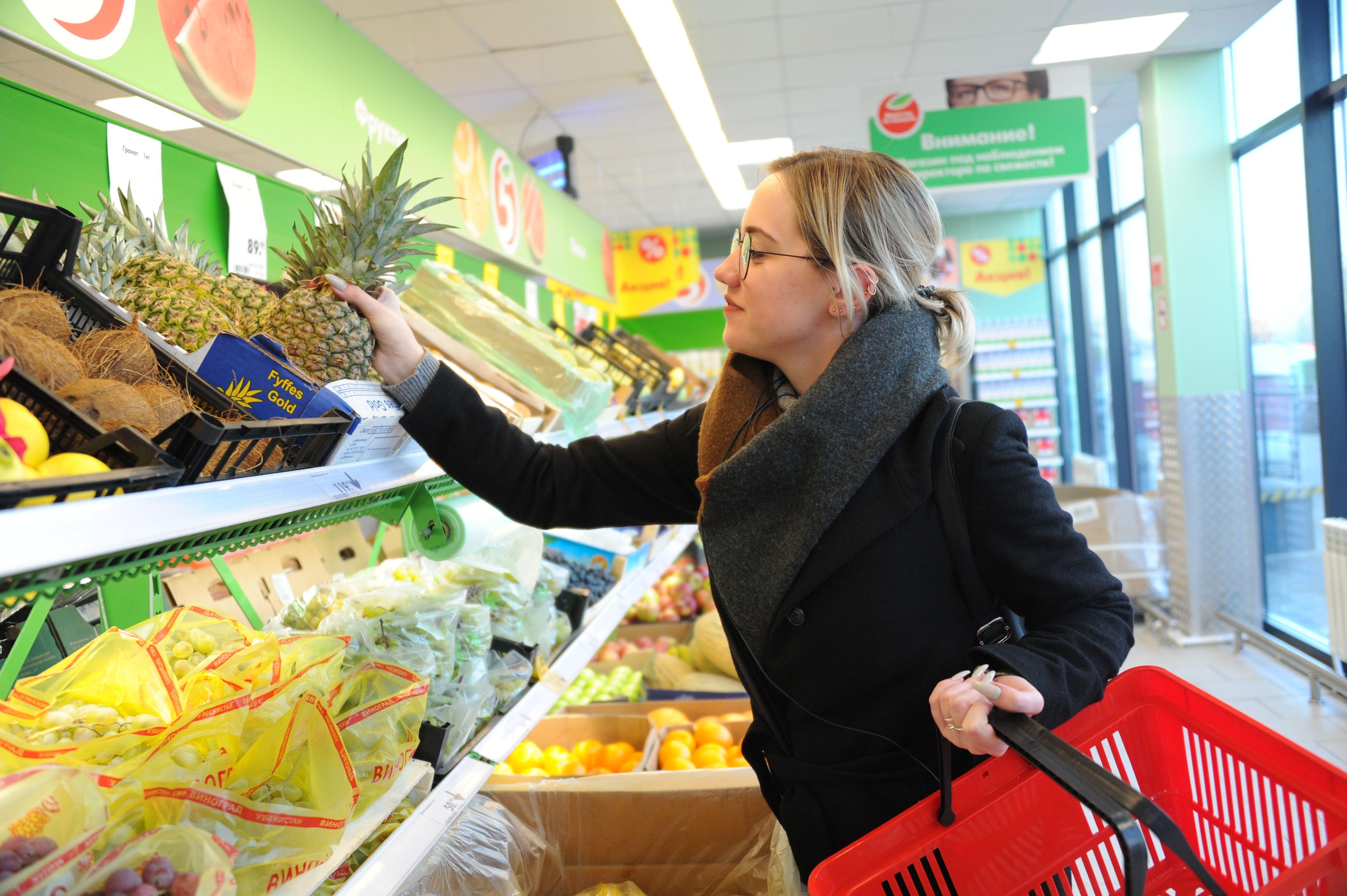 Москвичам рассказали, как ликвидировать обжигающий эффект ананасов
