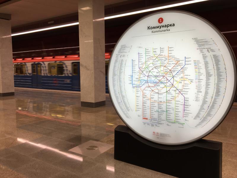 Первая пересадочная станция метрополитена появится в Новой Москве