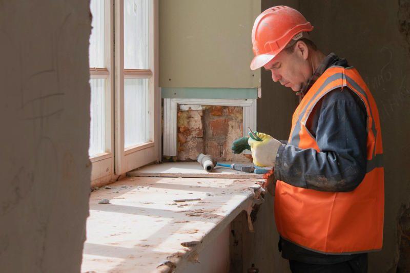 Капитальный ремонт дома завершат в Троицке