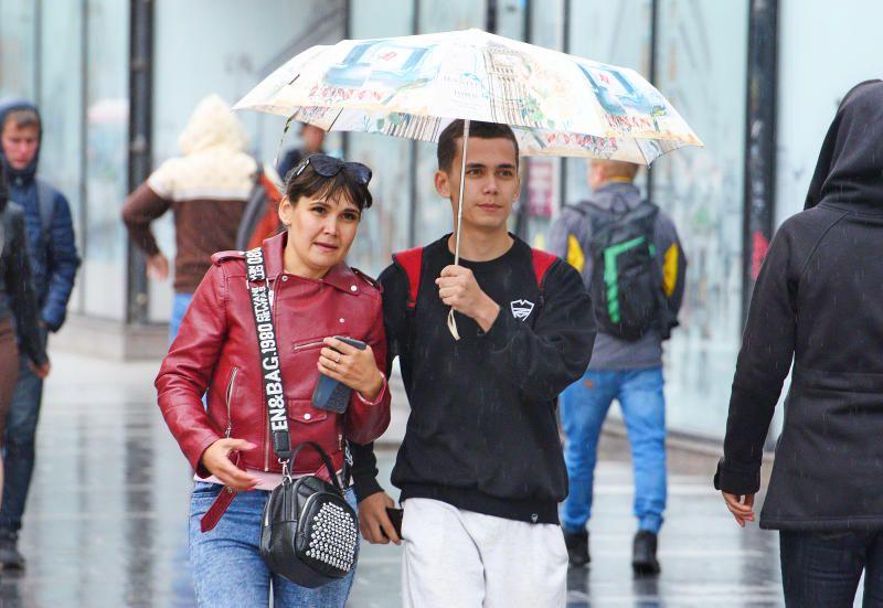 Метеорологи объявили «желтый» уровень погодной опасности в Москве