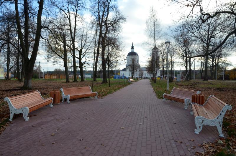 Новый парк в поселении Кленовское