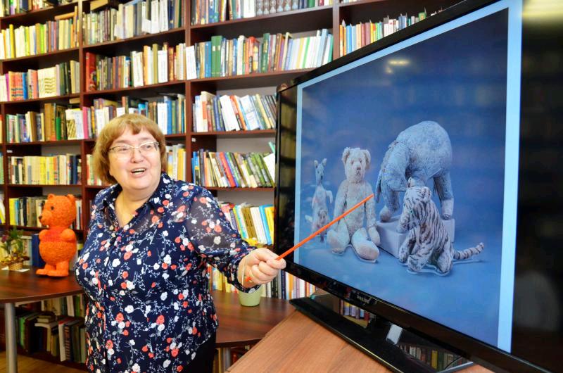 Праздник Винни-Пуха провели в библиотеке №2