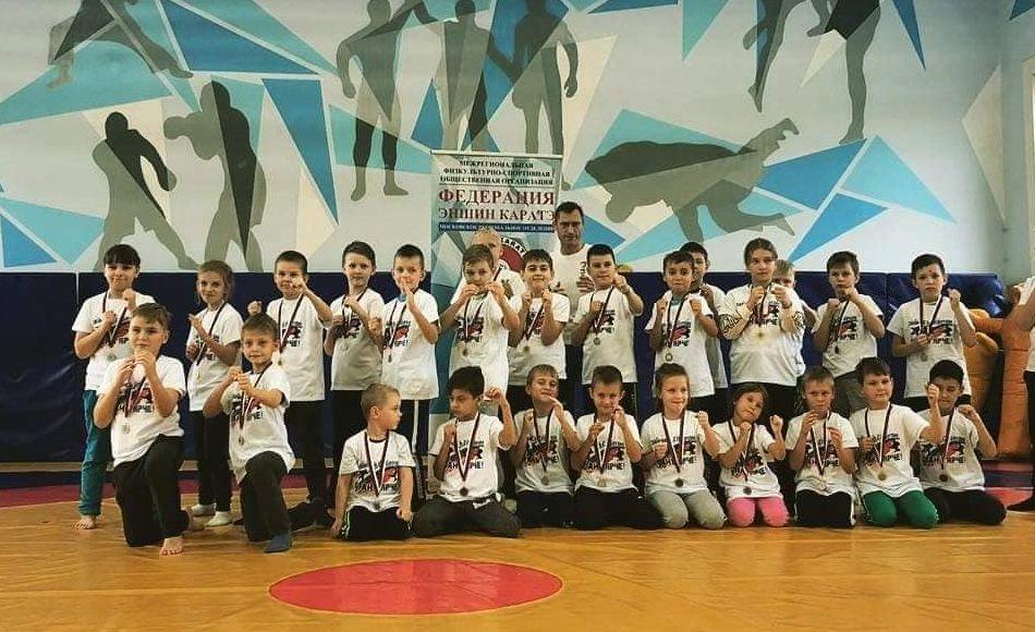 Юные спортсмены из Первомайского стали участниками праздника