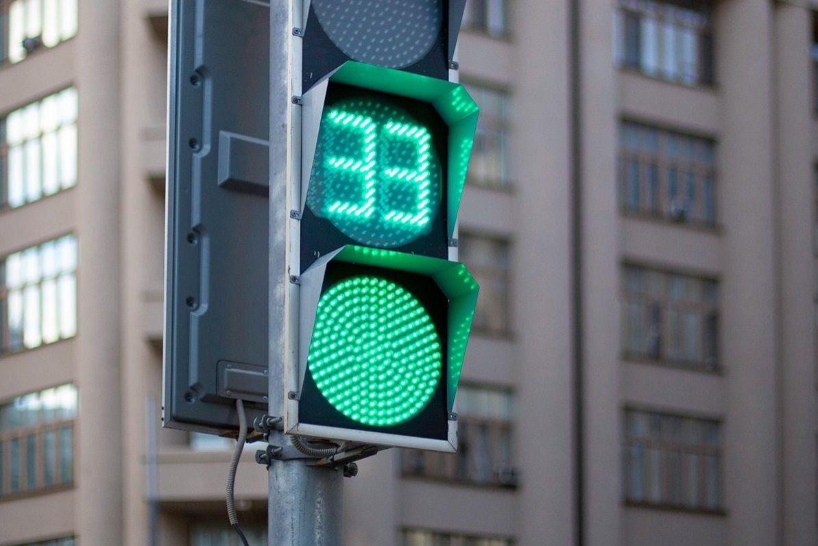 Новый светофор появился в поселении Внуковское