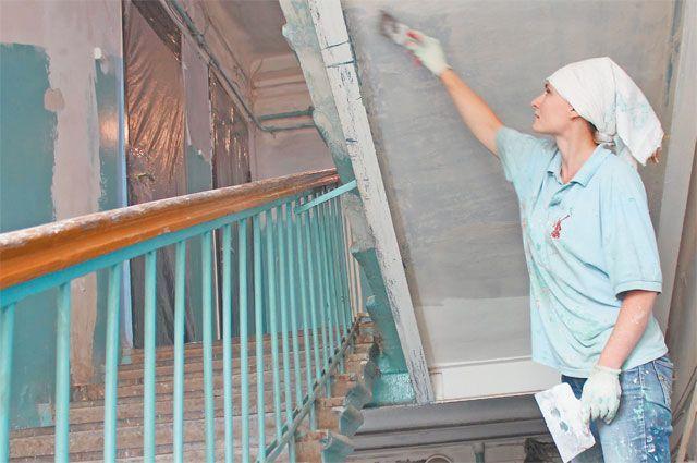 Подъезд жилого дома отремонтируют в Михайлово-Ярцевском