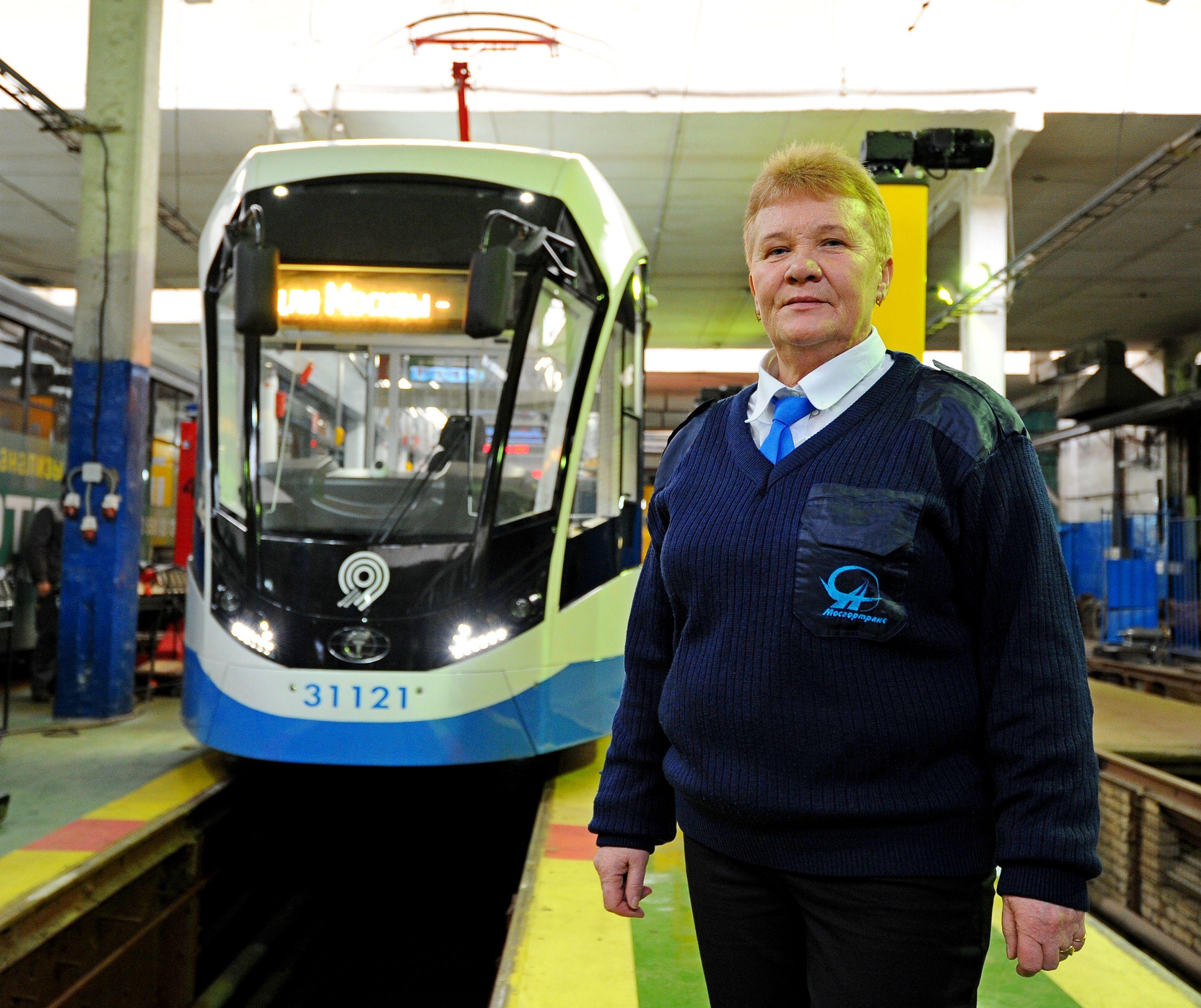 Москвичам рассказали о техническом обслуживании трамваев «Витязь»