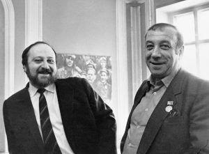 Георгий и Аркадий Вайнеры («Майнеры»). Фото: РИА НОВОСТИ