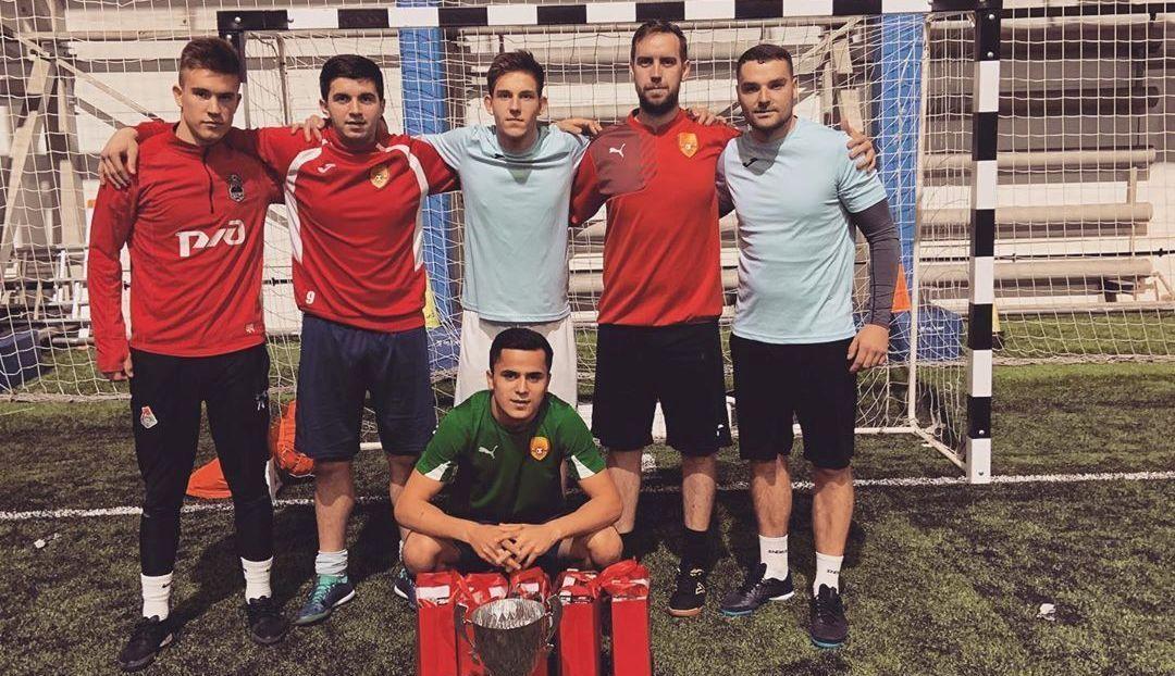 Юные спортсмены из Краснопахорского выступили во Всероссийском турнире по мини-футболу