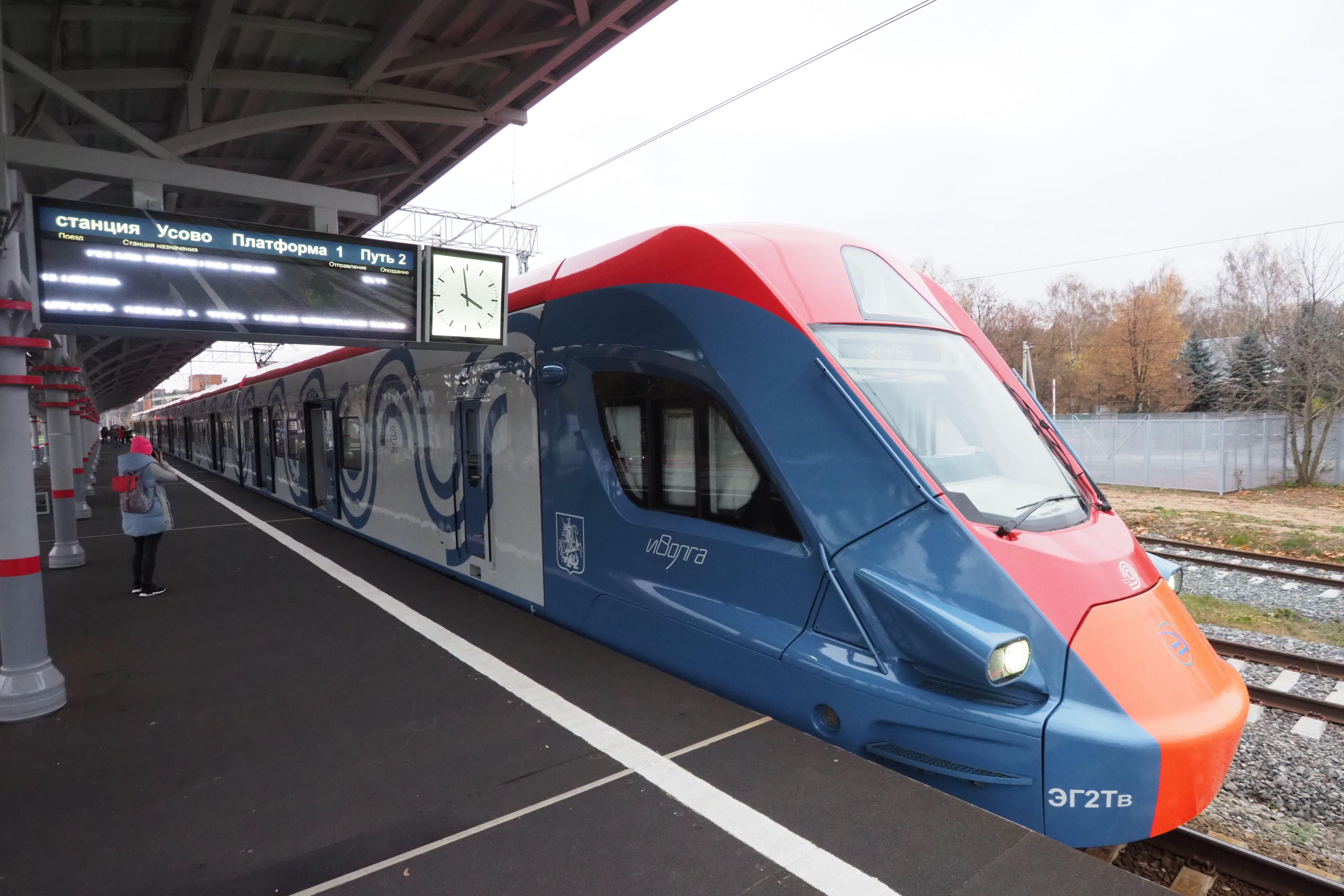 Поезда «Иволги» на МЦД-З станут курсировать в конце 2021 года