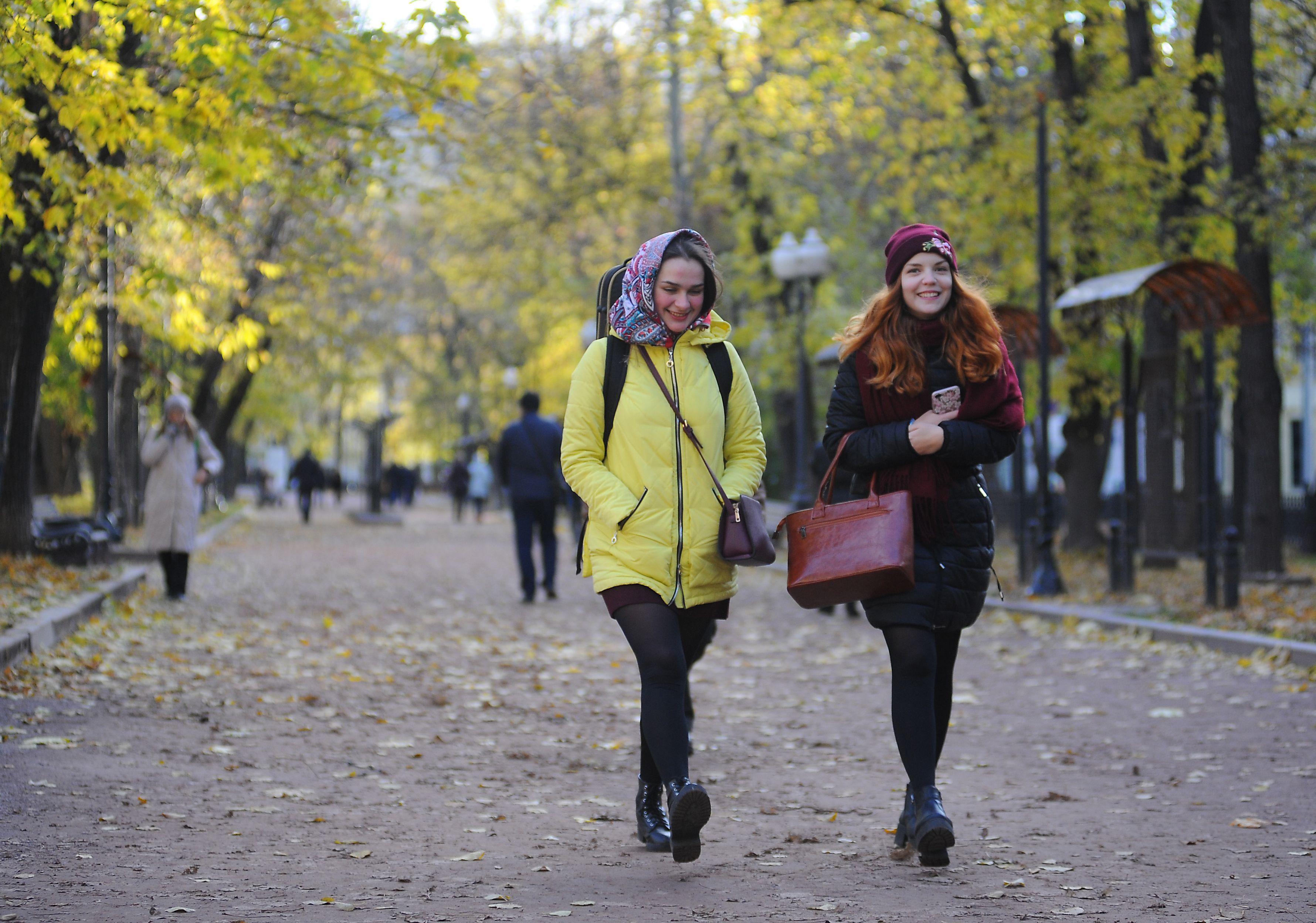 Москвичей ждет комфортная погода на выходных