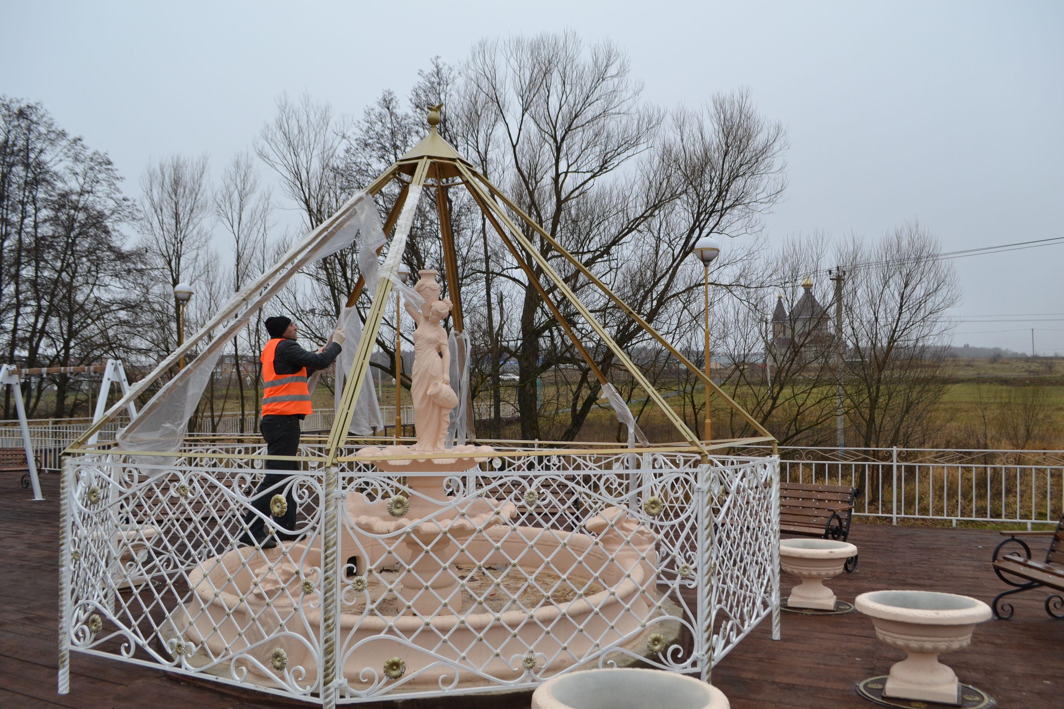 Фонтан украсят в поселении Роговское