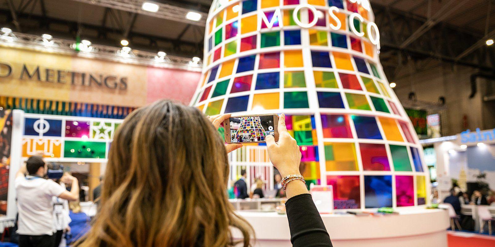 Стенд Москвы стал открытием на туристической выставке в Барселоне