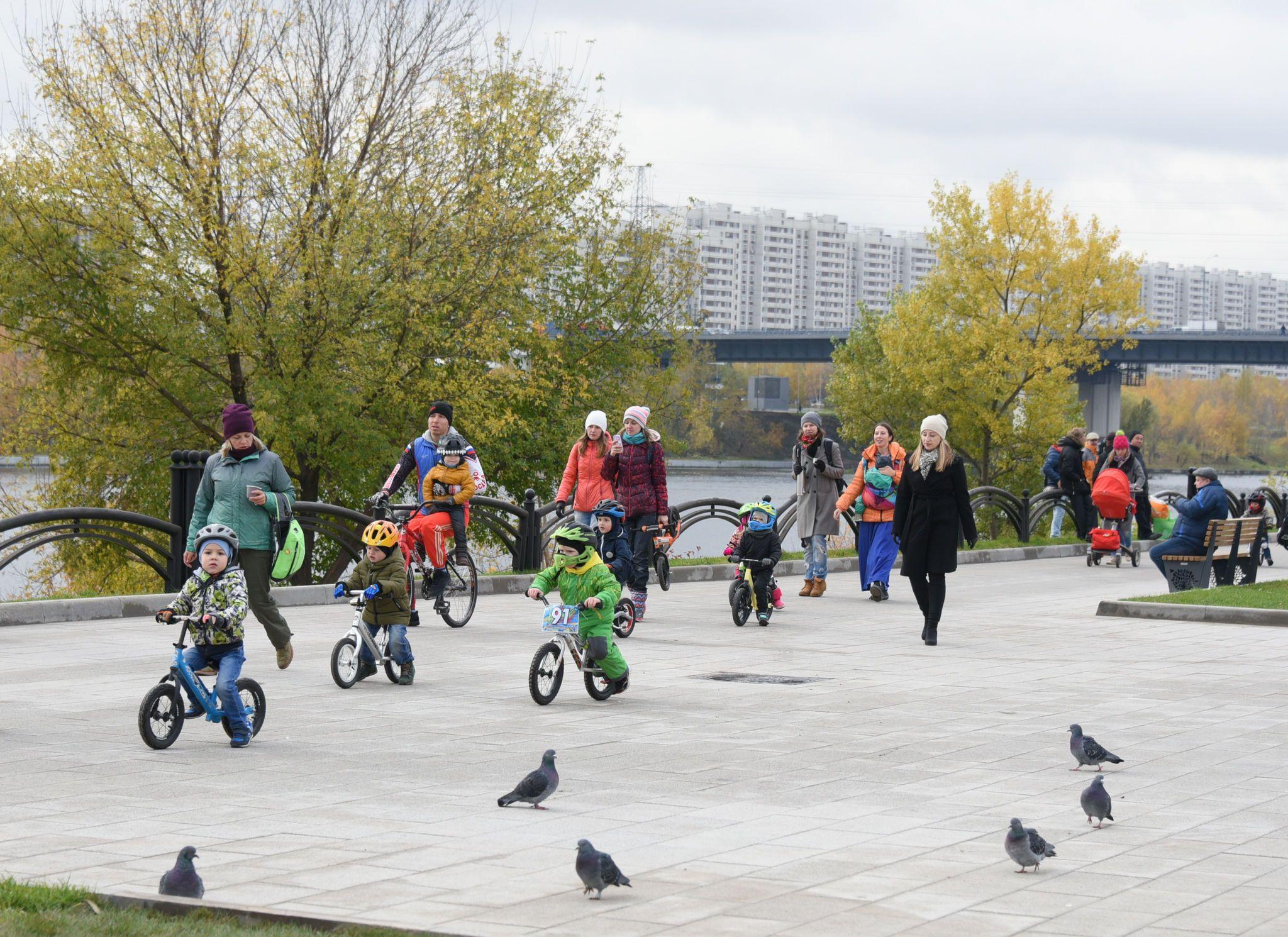 Активные москвичи оценили результаты благоустройства парков