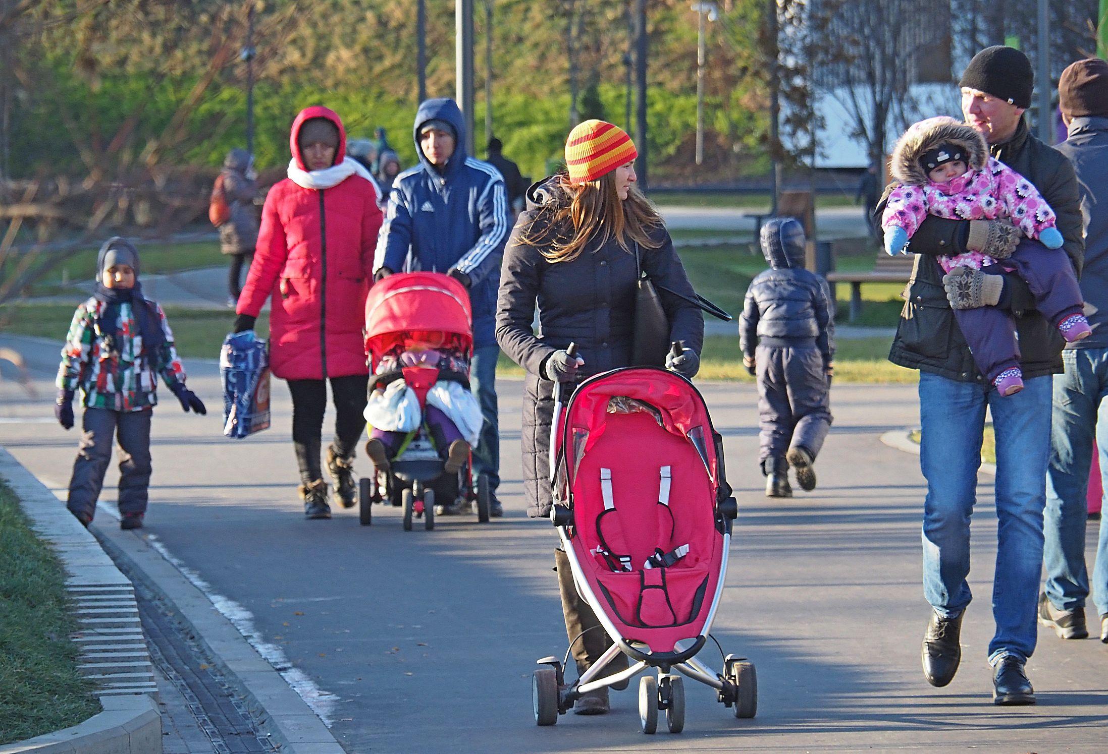 Московские парки пригласили на День матери