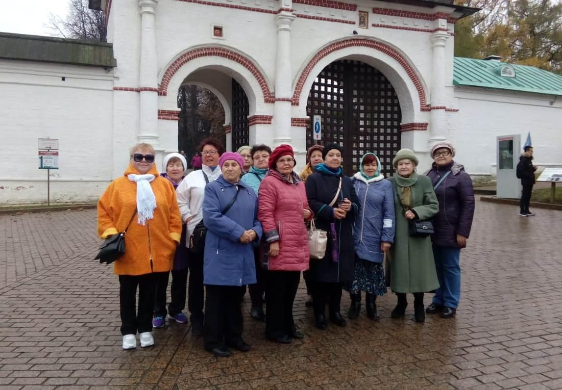 Участники Совета ветеранов поселения Краснопахорское побывали в музее-заповеднике