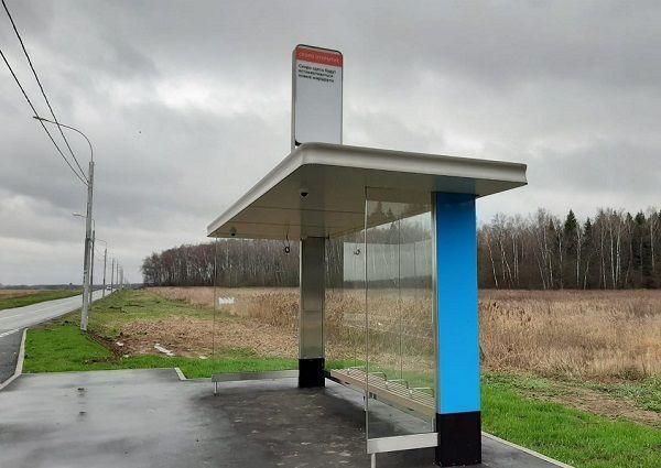 Специалисты обустроили 30 остановок общественного транспорта в поселении Десеновское