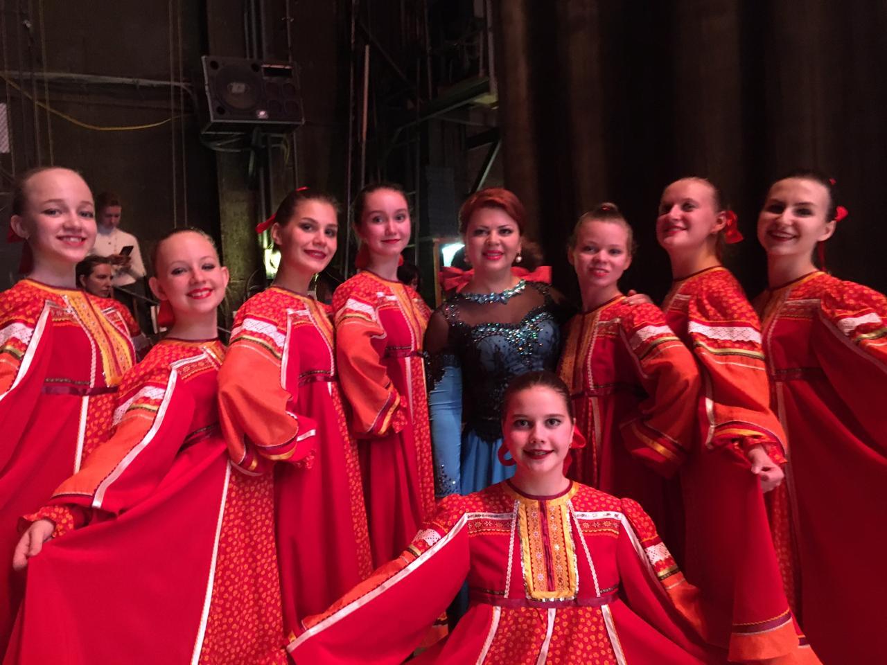 Юные артисты из Московского выступили на праздничном концерте