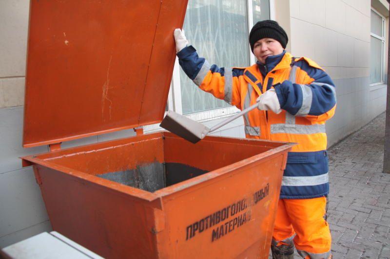 Контейнеры для реагентов установили в Роговском