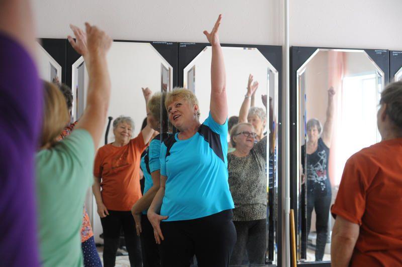 Занятия по общей физической подготовке провели в поселке Рогово