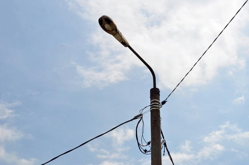 Опоры освещения установят в Щербинке