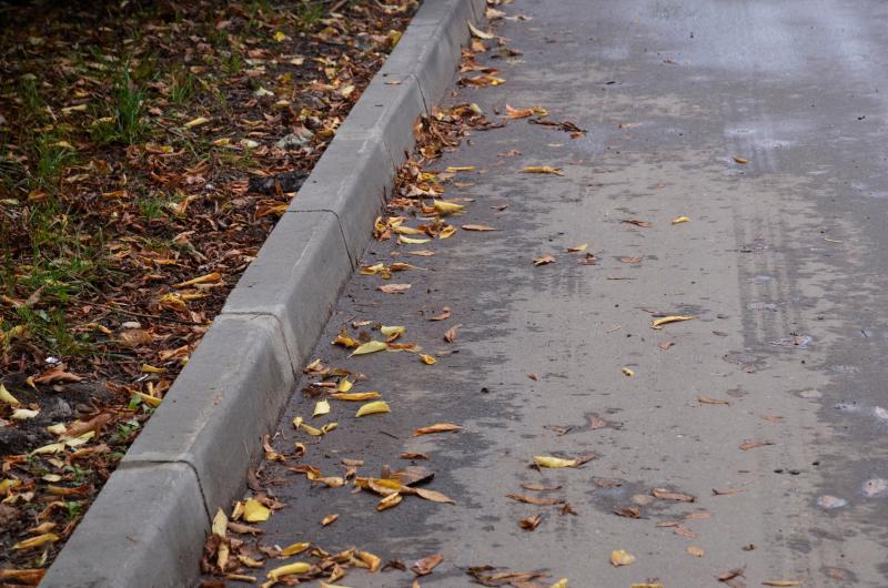 Проверку качества новых тротуаров произвели в Кленовском