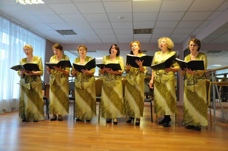 Репетиция ансамбля «Земля касак» состоялась в Троицком центре культуры и творчества