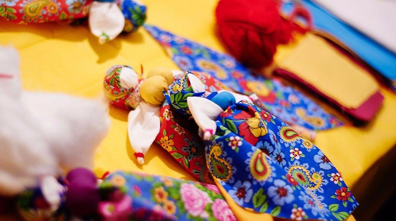 Мастер-класс по созданию тряпичных кукол состоится во Внуковском