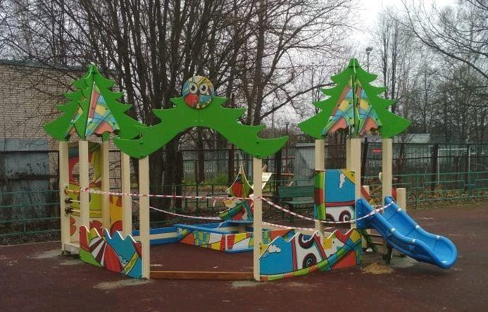 Детскую площадку приведут в порядок в Щаповском