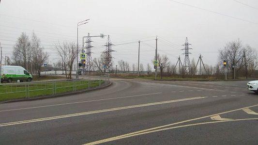 Оборудование для регулировки светофора установили в Рязановском
