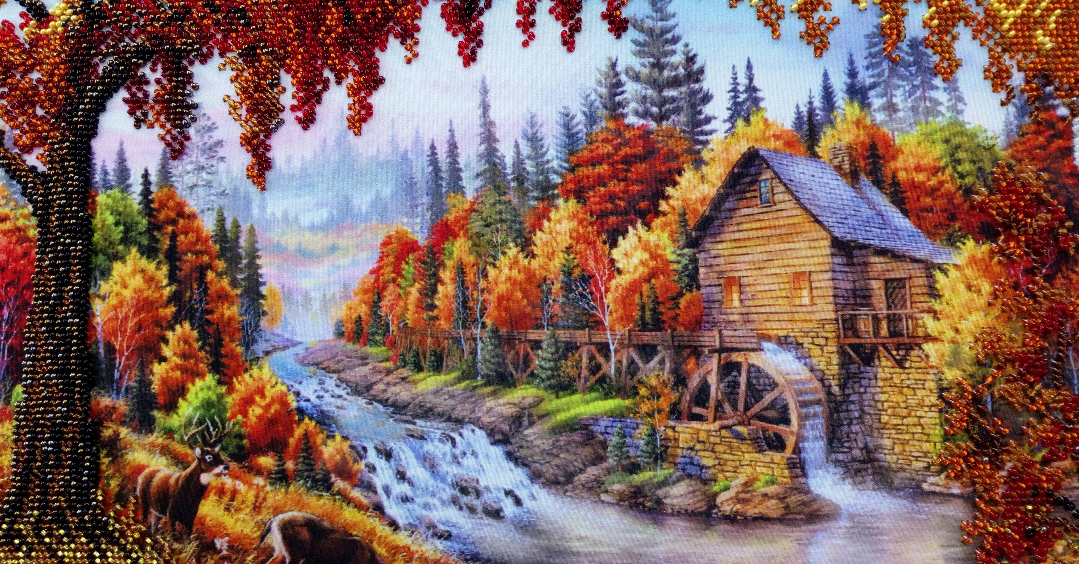 Работы-победители: «Осенняя пора». Автор: Валентина Диколенко, г. Кемерово