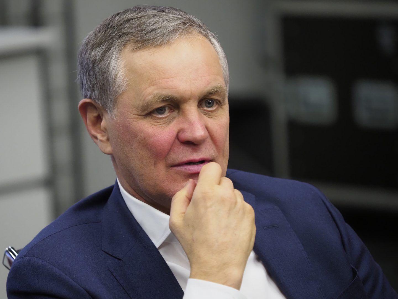 Глава Департамента развития новых территорий Владимир Жидкин. Фото: Антон Гердо