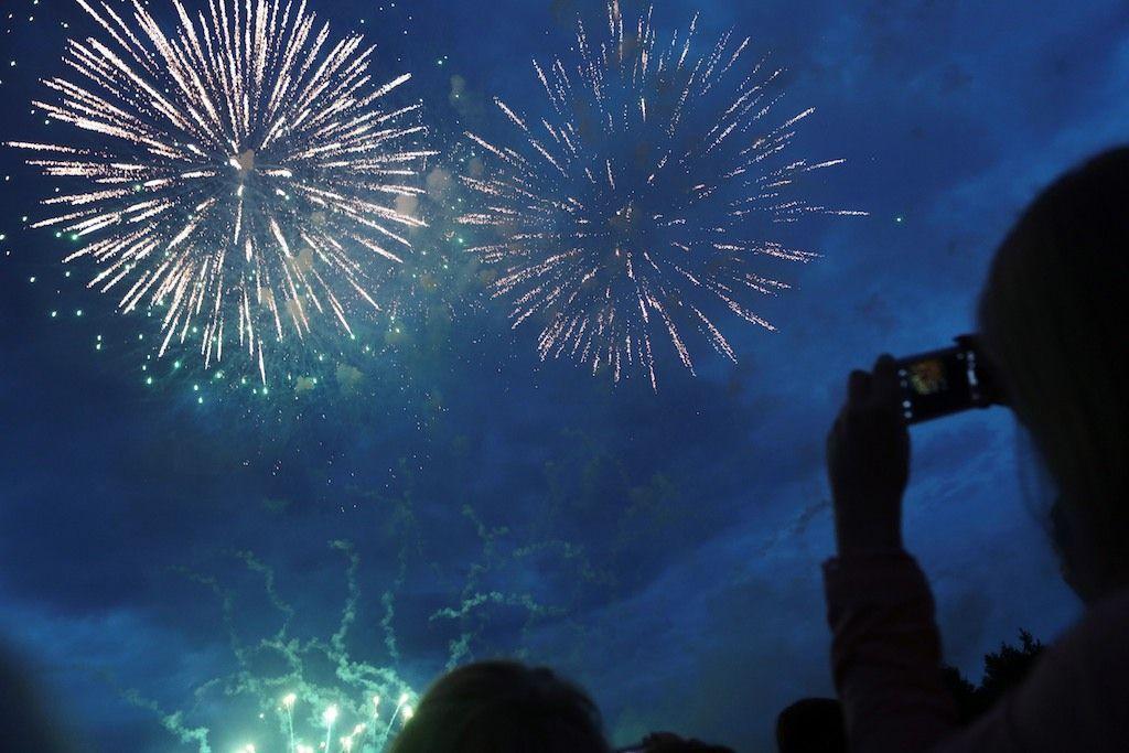 Две площадки для фейерверков появились в Новой Москве