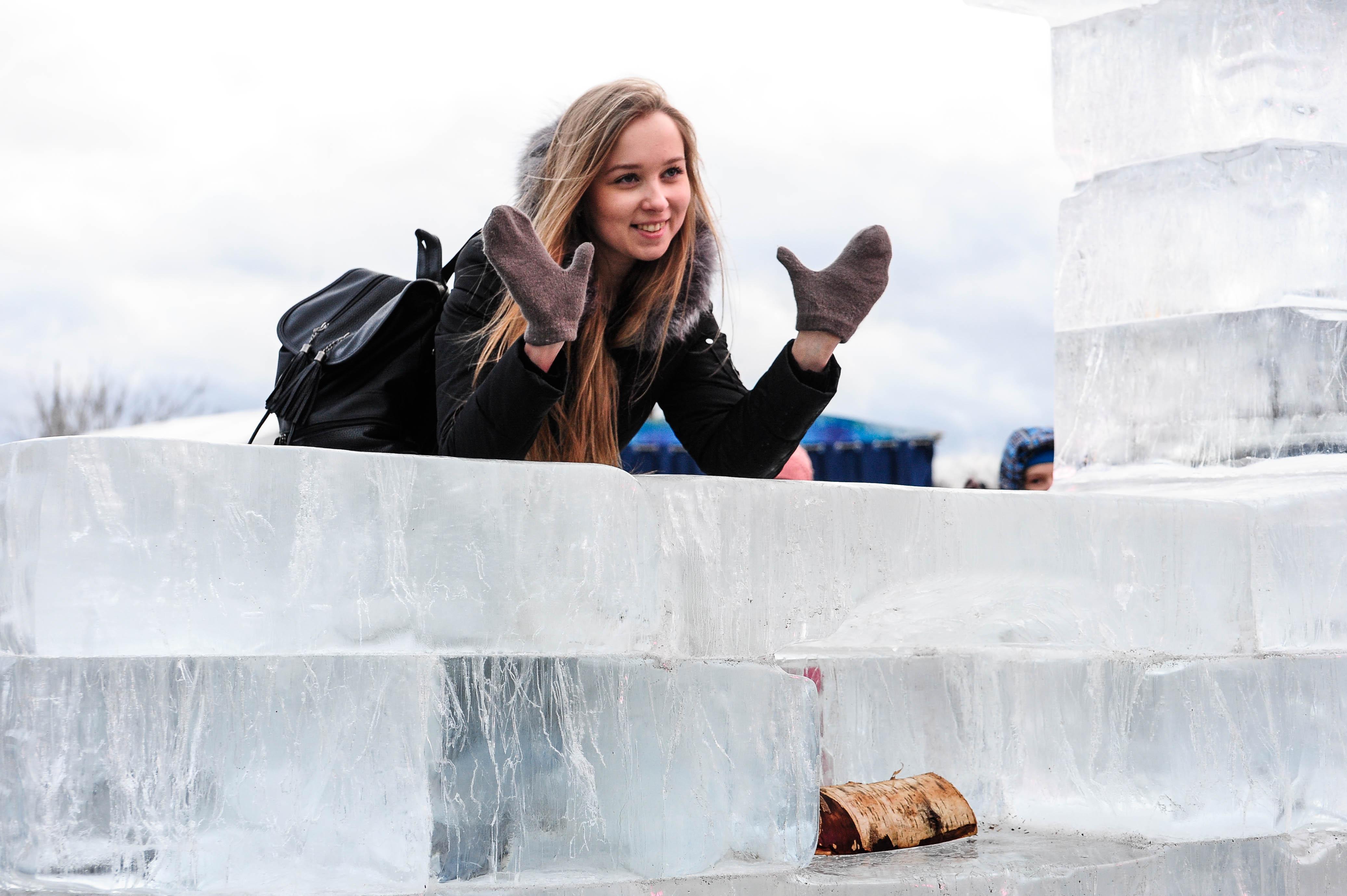 Парк Победы представит более 50 скульптур на фестивале «Ледовая Москва»
