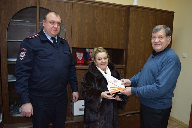 Полицейские Новой Москвы совместно с секретарем Общественного совета при УВД по ТиНАО приняли участие в Декаде инвалидов