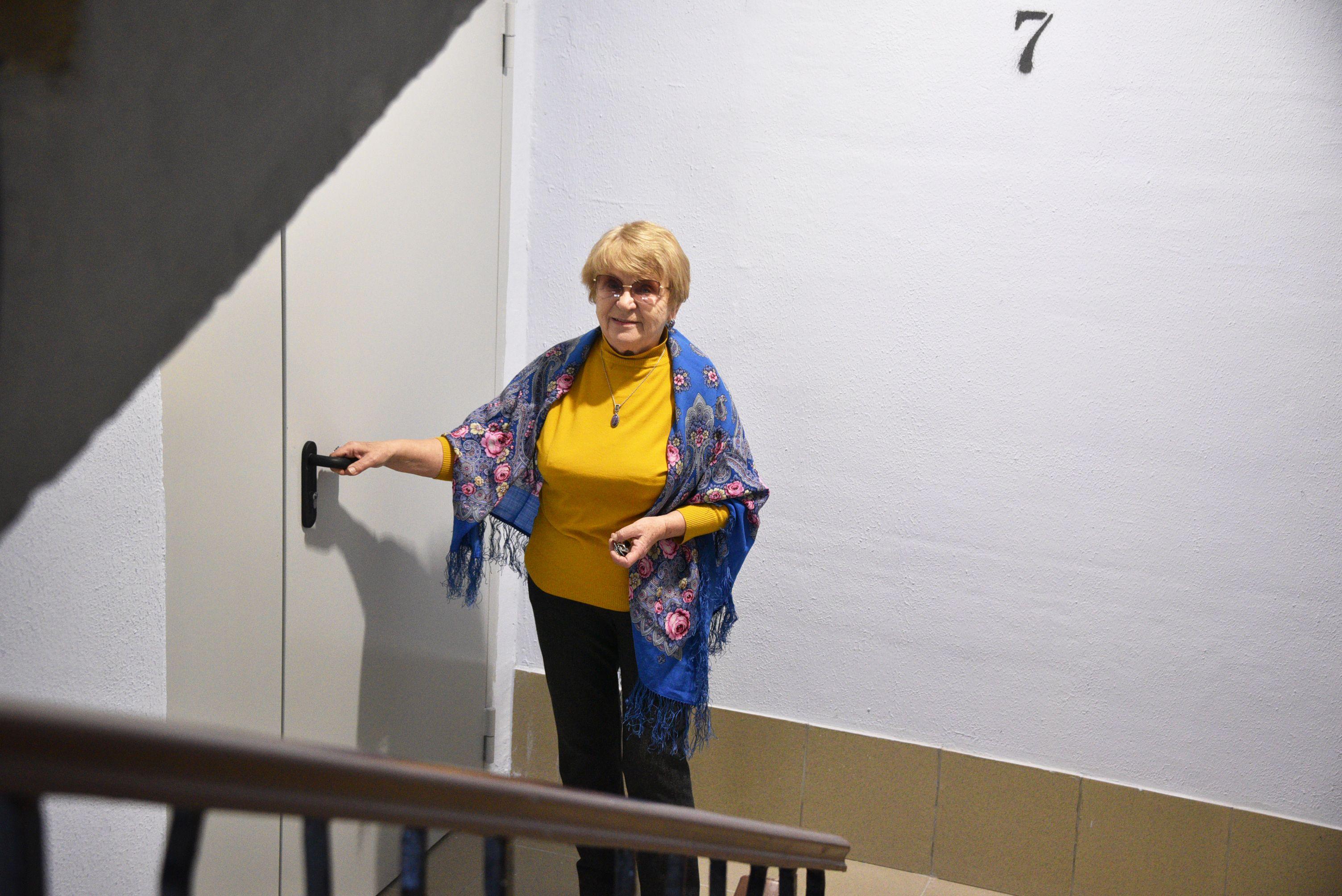 Жилой дом начали ремонтировать в Краснопахорском
