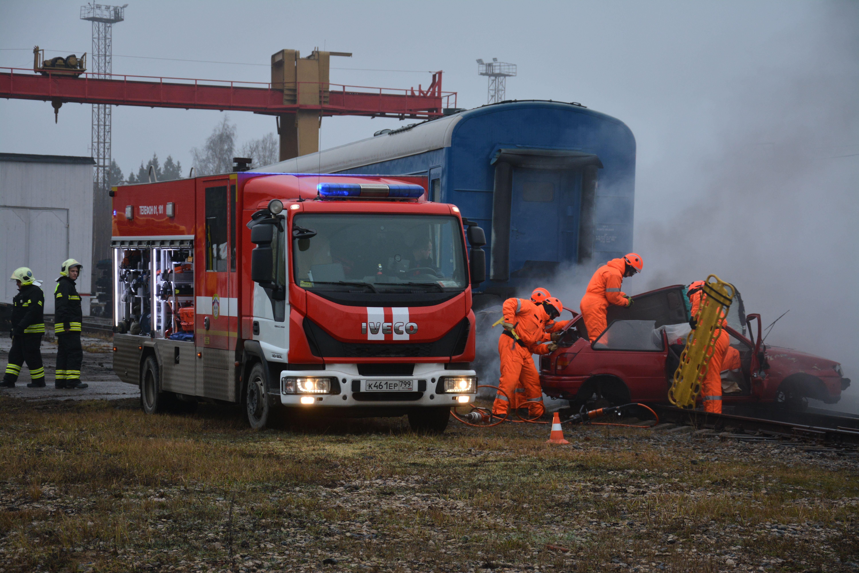 Спасатели столицы ликвидировали ЧС на транспорте
