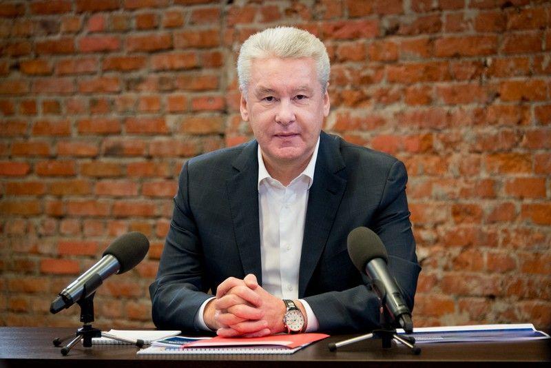 Собянин выступил перед  депутатам Мосгордумы с отчетом о проделанной за год работе