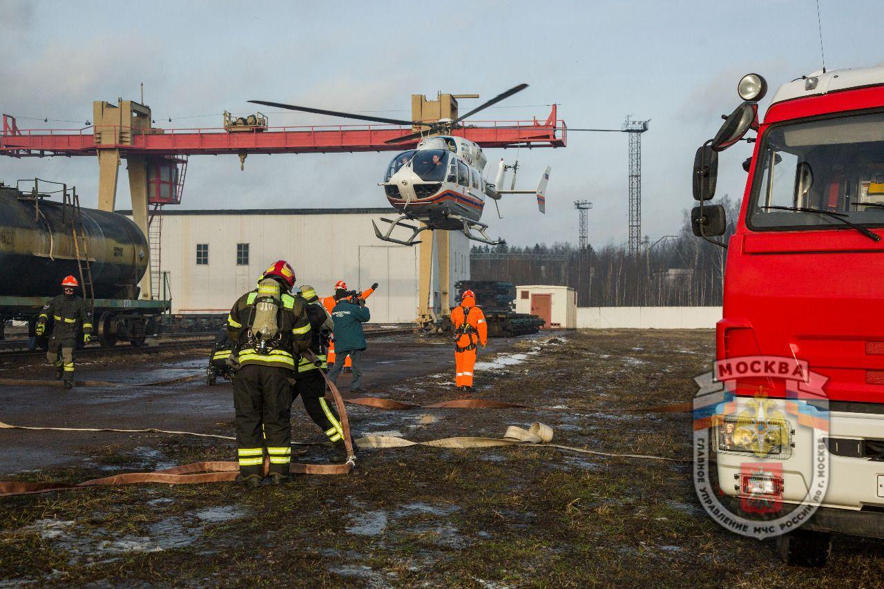 Командно-штабное учение органов управления и силМГСЧС на объектах транспортной инфраструктурыпройдет 10 и 11 декабря