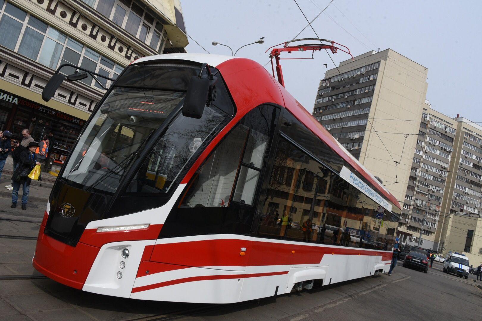 Власти Москвы обновят городской трамвайный парк до 2023 года