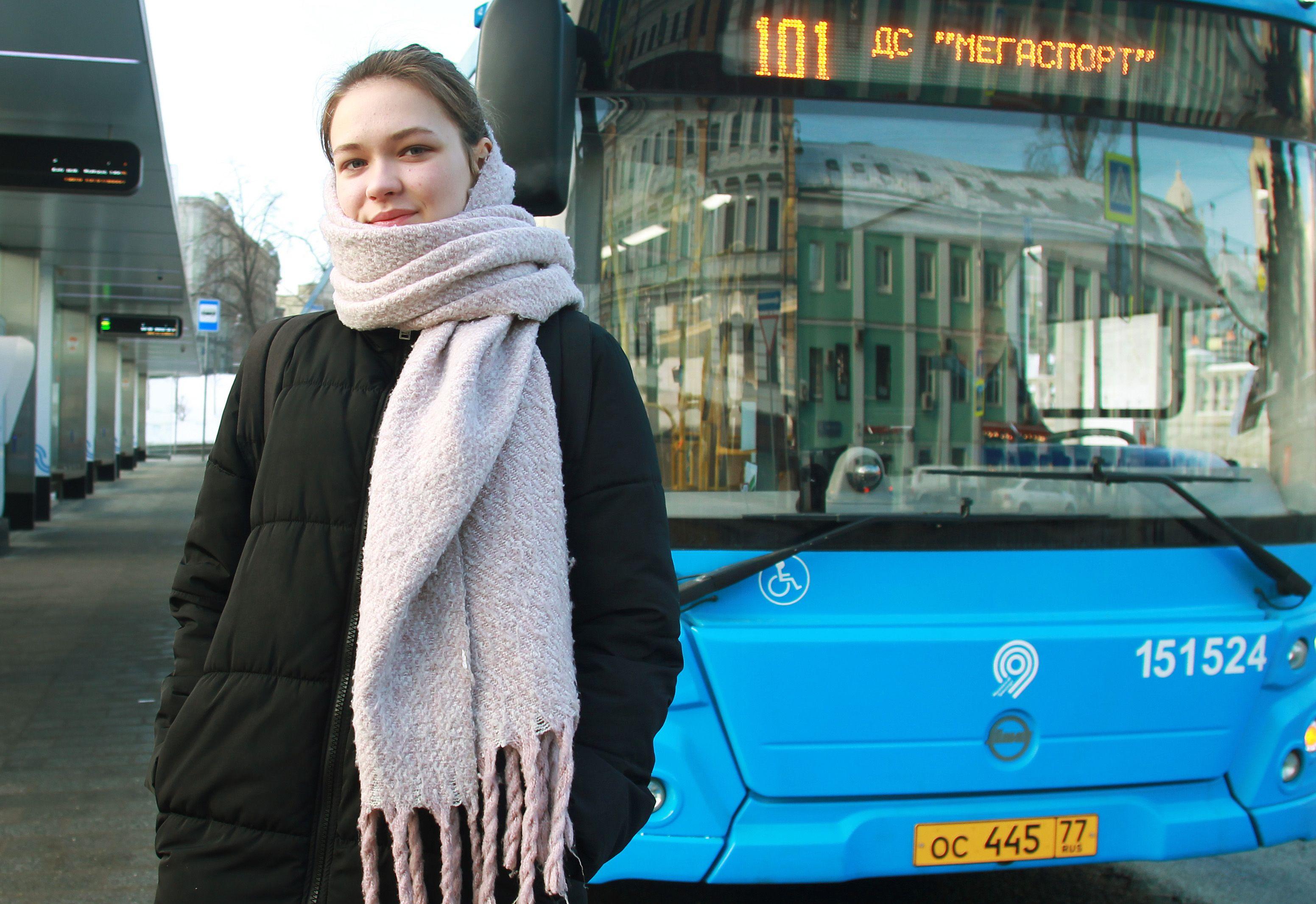 Москва запустила 1,1 тысячи автобусов за год