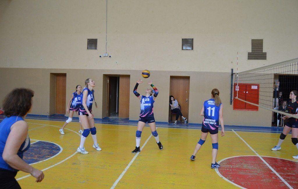 Женский турнир по волейболу состоится в спорткомплексе «Красная Пахра»