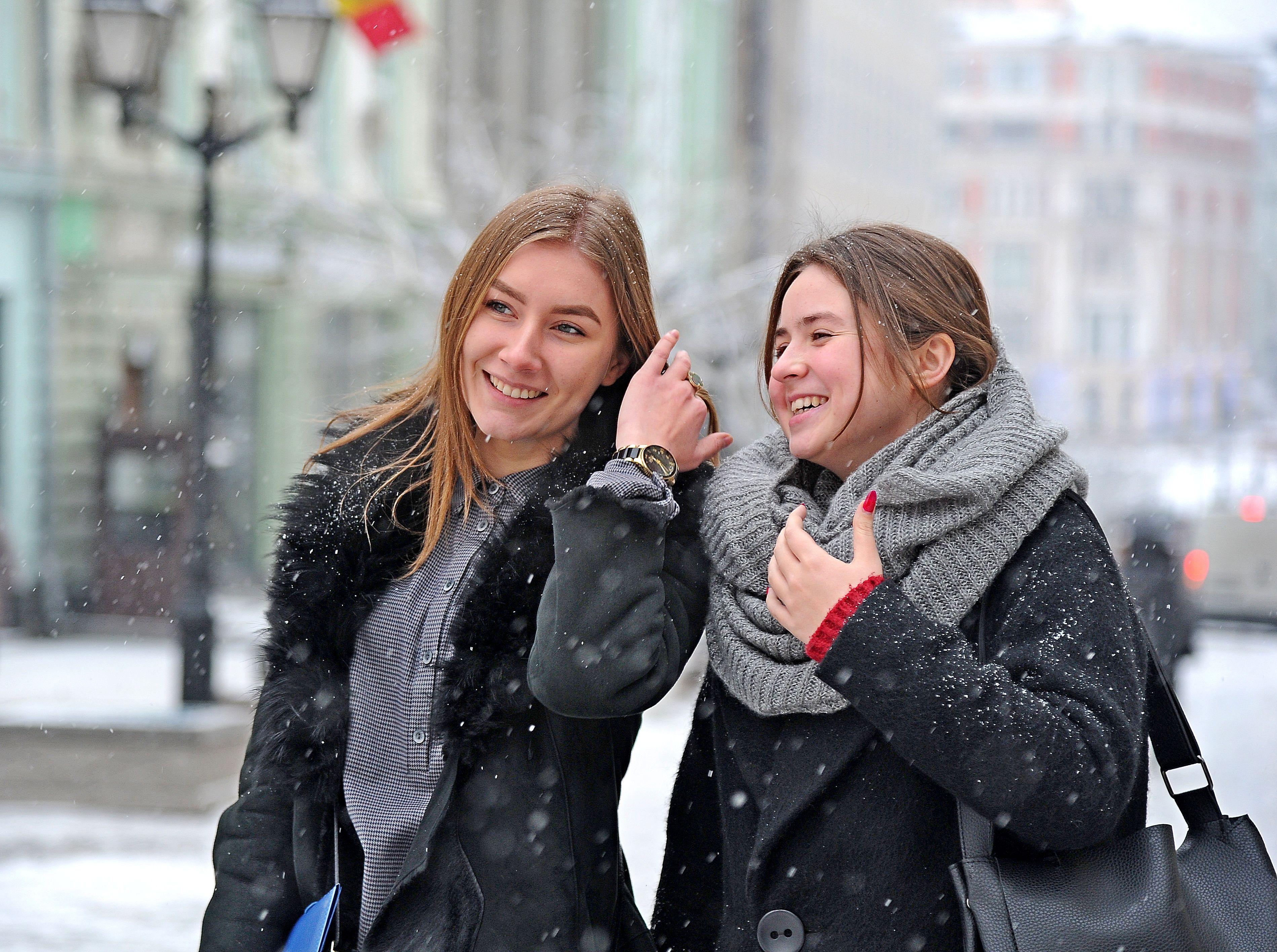 Мокрый снег и ветер ожидаются в Москве на выходных