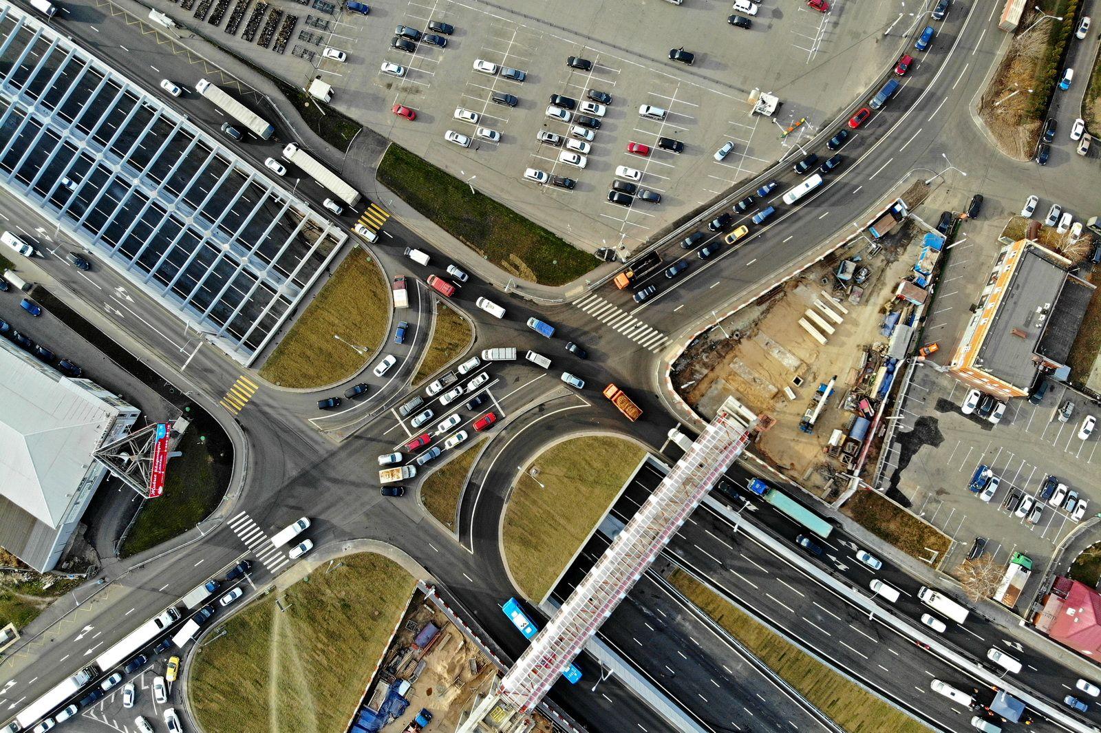 Москва получила 100 километров новых дорог за 2019 год