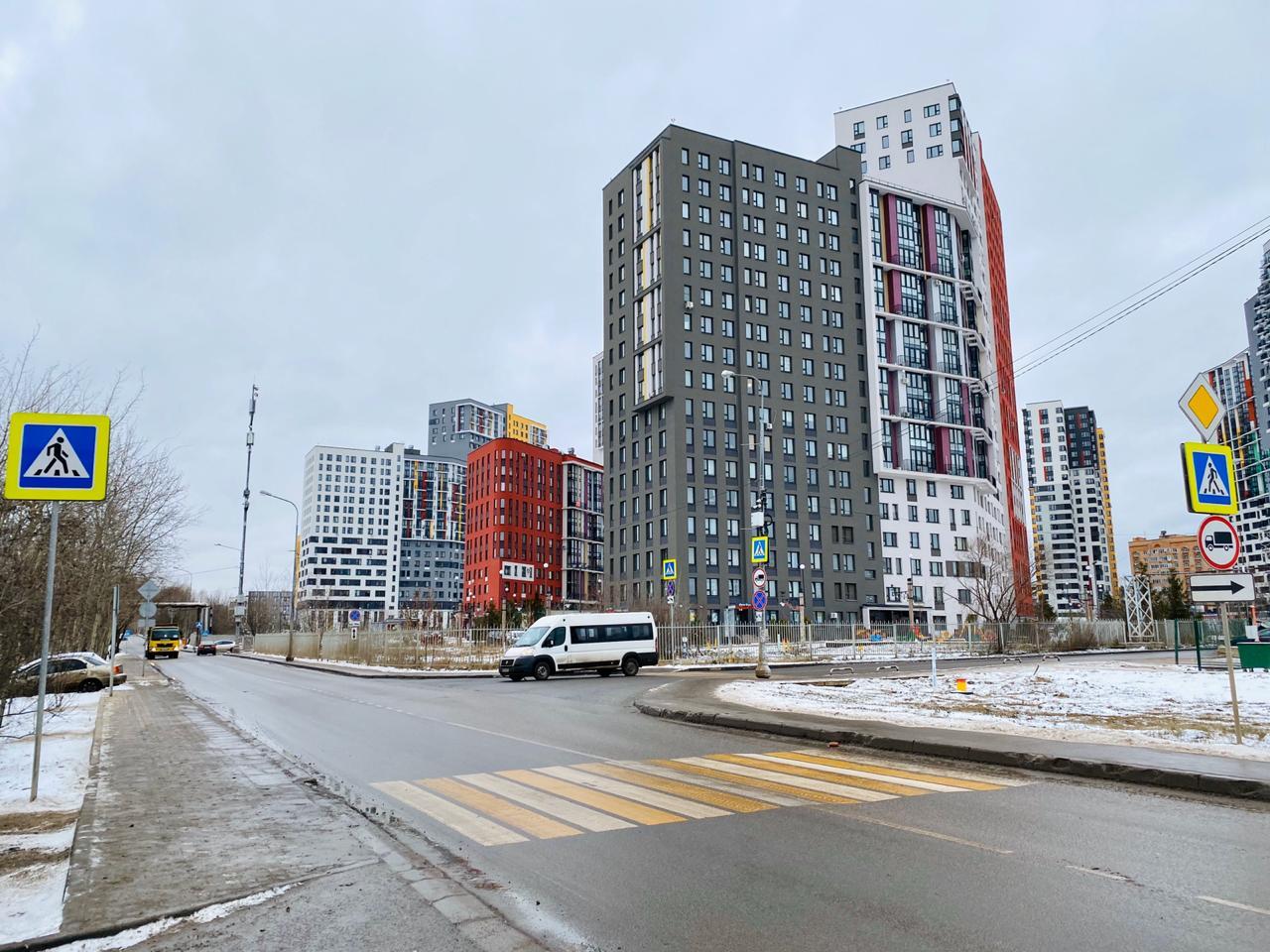 Дорожную разметку обновили в Сосенском
