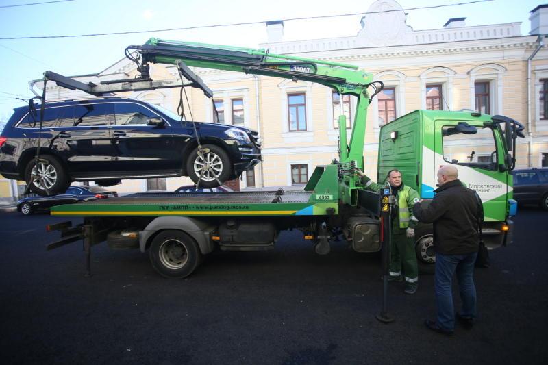 Контроль за автомобилями без номеров будет усилен в Москве