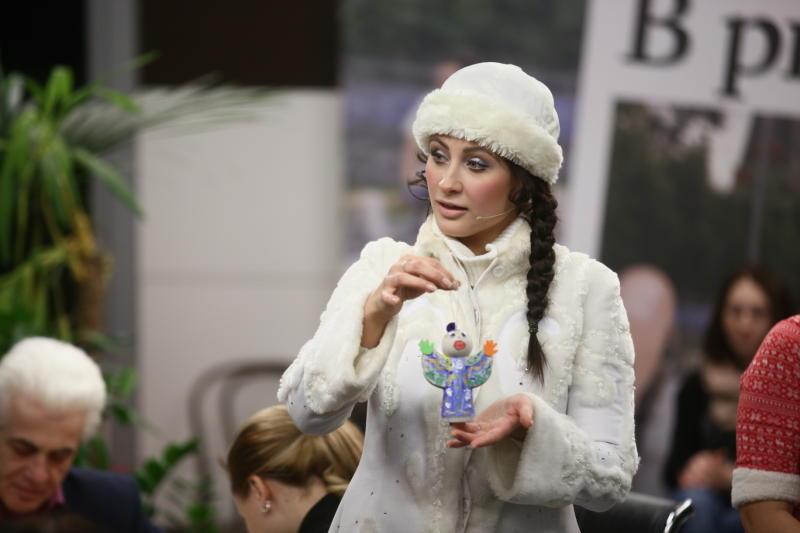 Жители Роговского стали участниками предновогодней программы