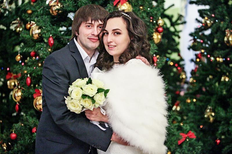 Около 500 пар зарегистрируют брак 31 декабря
