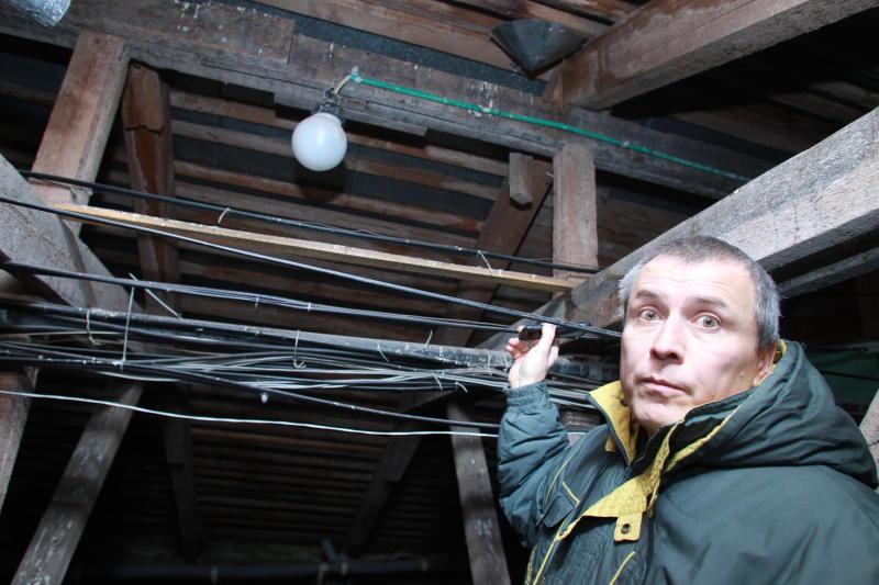 Проверку чердаков и подвалов провели в Михайлово-Ярцевском