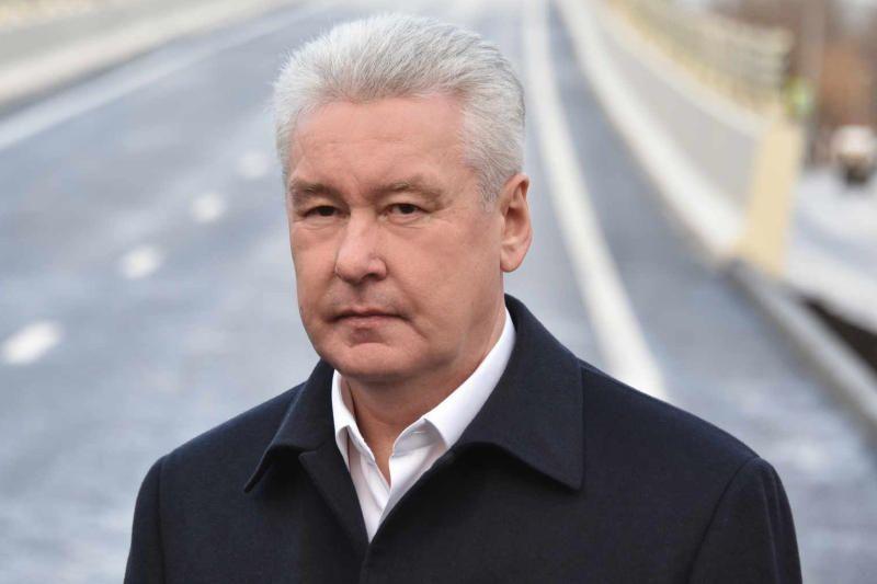 Собянин: На новых территориях Москвы построено более 200 км дорог